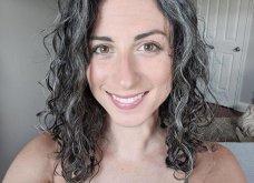 50 υπέροχες γυναίκες που λατρεύουν τα γκρίζα τους μαλλιά & μας τα παρουσιάζουν - Φώτο    - Κυρίως Φωτογραφία - Gallery - Video 17