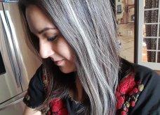 50 υπέροχες γυναίκες που λατρεύουν τα γκρίζα τους μαλλιά & μας τα παρουσιάζουν - Φώτο    - Κυρίως Φωτογραφία - Gallery - Video 21