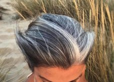 50 υπέροχες γυναίκες που λατρεύουν τα γκρίζα τους μαλλιά & μας τα παρουσιάζουν - Φώτο    - Κυρίως Φωτογραφία - Gallery - Video 29