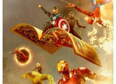 Απίθανα σκηνικά με μινιατούρες από χαρακτήρες ηρώων της Marvel: Από τον Captain America, μέχρι τον Iron Man    - Κυρίως Φωτογραφία - Gallery - Video 17