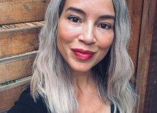 50 υπέροχες γυναίκες που λατρεύουν τα γκρίζα τους μαλλιά & μας τα παρουσιάζουν - Φώτο    - Κυρίως Φωτογραφία - Gallery - Video 33