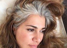 50 υπέροχες γυναίκες που λατρεύουν τα γκρίζα τους μαλλιά & μας τα παρουσιάζουν - Φώτο    - Κυρίως Φωτογραφία - Gallery - Video 34