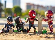 Απίθανα σκηνικά με μινιατούρες από χαρακτήρες ηρώων της Marvel: Από τον Captain America, μέχρι τον Iron Man    - Κυρίως Φωτογραφία - Gallery - Video 22