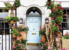 Καλλιτέχνιδα καταγράφει τις πιο όμορφες μπροστινές πόρτες του Λονδίνου: Υπέροχα λουλούδια & χρώματα - Φώτο  - Κυρίως Φωτογραφία - Gallery - Video 9