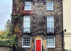 Καλλιτέχνιδα καταγράφει τις πιο όμορφες μπροστινές πόρτες του Λονδίνου: Υπέροχα λουλούδια & χρώματα - Φώτο  - Κυρίως Φωτογραφία - Gallery - Video 20
