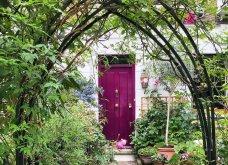 Καλλιτέχνιδα καταγράφει τις πιο όμορφες μπροστινές πόρτες του Λονδίνου: Υπέροχα λουλούδια & χρώματα - Φώτο  - Κυρίως Φωτογραφία - Gallery - Video 7