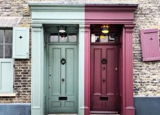 Καλλιτέχνιδα καταγράφει τις πιο όμορφες μπροστινές πόρτες του Λονδίνου: Υπέροχα λουλούδια & χρώματα - Φώτο  - Κυρίως Φωτογραφία - Gallery - Video 29