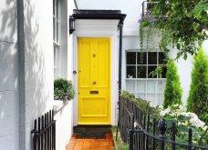 Καλλιτέχνιδα καταγράφει τις πιο όμορφες μπροστινές πόρτες του Λονδίνου: Υπέροχα λουλούδια & χρώματα - Φώτο  - Κυρίως Φωτογραφία - Gallery - Video 30