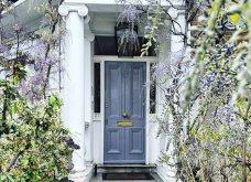 Καλλιτέχνιδα καταγράφει τις πιο όμορφες μπροστινές πόρτες του Λονδίνου: Υπέροχα λουλούδια & χρώματα - Φώτο  - Κυρίως Φωτογραφία - Gallery - Video 8