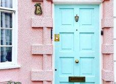 Καλλιτέχνιδα καταγράφει τις πιο όμορφες μπροστινές πόρτες του Λονδίνου: Υπέροχα λουλούδια & χρώματα - Φώτο  - Κυρίως Φωτογραφία - Gallery - Video 33