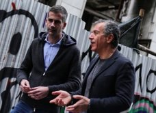 H πολιτική φωτό της ημέρας: Κώστας Μπακογιάννης & Σταύρος Θεοδωράκης μαζί... - Κυρίως Φωτογραφία - Gallery - Video