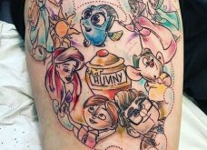 40 μοναδικές εικόνες με τατουάζ εμπνευσμένα από Disney χαρακτήρες - Θα τα λατρέψετε! Φώτο   - Κυρίως Φωτογραφία - Gallery - Video 10