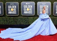 Χρυσές Σφαίρες: Όλες οι εμφανίσεις στο κόκκινο χαλί - Από τη λαμπερή Lady Gaga και την κομψή Τζούλια Ρόμπερτς έως την... κακοντυμένη Αν Χαθαγουέι (Φωτό) - Κυρίως Φωτογραφία - Gallery - Video