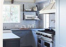 Το design στην κουζίνα: 10 εντυπωσιακά δωμάτια που συνδυάζουν την κομψότητα, την οργάνωση και την ευκολία (Φωτό) - Κυρίως Φωτογραφία - Gallery - Video 6
