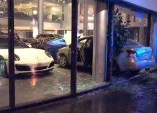 Τον παράτησε η κοπέλα του και αυτός ξέσπασε στην.... αντιπροσωπεία της Porsche! (βίντεο) - Κυρίως Φωτογραφία - Gallery - Video