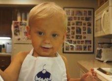 Βίντεο: Αυτός ο 2χρονος μάγειρας έχει... γλυκάνει το Internet με τις δημιουργίες του - Είναι απίστευτος! - Κυρίως Φωτογραφία - Gallery - Video