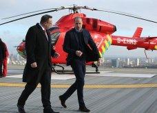 Βίντεο: Ο πρίγκιπας Ουίλιαμ πέταξε αεροπλάνο κατά την επίσκεψή του στο air ambulance του Λονδίνου (βίντεο) - Κυρίως Φωτογραφία - Gallery - Video