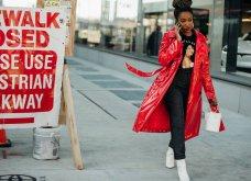 Η Vogue μας παρουσιάζει τα καλύτερα Street Style από την εβδομάδα μόδας στη Νέα Υόρκη - Φώτο  - Κυρίως Φωτογραφία - Gallery - Video 16