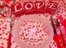 Σας θέλω χαρούμενες: 16 ιδέες για να διακοσμήσετε κόκκινα και ερωτιάρικα το τραπέζι σας του Αγίου Βαλεντίνου - Φώτο  - Κυρίως Φωτογραφία - Gallery - Video 2