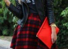 ... Έχετε σκωτσέζικη φούστα  Ιδού 29 φανταστικά γυναικεία outfits που θα  την απογειώσουν - Φώτο ... 7afa5016099
