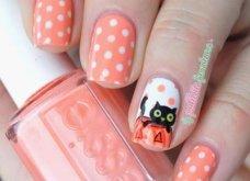 35 εντυπωσιακές προτάσεις για αποκριάτικα νύχια: Από γάτες μέχρι νεκροκεφαλές - Φώτο   - Κυρίως Φωτογραφία - Gallery - Video