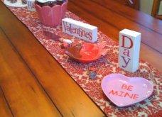 Σας θέλω χαρούμενες: 16 ιδέες για να διακοσμήσετε κόκκινα και ερωτιάρικα το τραπέζι σας του Αγίου Βαλεντίνου - Φώτο  - Κυρίως Φωτογραφία - Gallery - Video 9