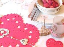 Σας θέλω χαρούμενες: 16 ιδέες για να διακοσμήσετε κόκκινα και ερωτιάρικα το τραπέζι σας του Αγίου Βαλεντίνου - Φώτο  - Κυρίως Φωτογραφία - Gallery - Video 13