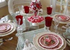 Σας θέλω χαρούμενες: 16 ιδέες για να διακοσμήσετε κόκκινα και ερωτιάρικα το τραπέζι σας του Αγίου Βαλεντίνου - Φώτο  - Κυρίως Φωτογραφία - Gallery - Video 6