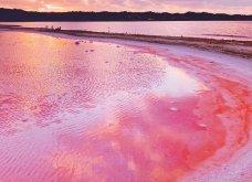 Καλλιτέχνιδα φωτογράφισε μια μαγική ροζ λιμνοθάλασσα στη Δυτική Αυστραλία - Φώτο  - Κυρίως Φωτογραφία - Gallery - Video 6