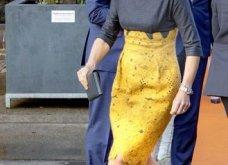 Η βασίλισσα Μαξίμα της Ολλανδίας με το ωραιότερο φουστάνι του φετινού χειμώνα: Γκρι μάλλινο  με μουσταρδί δαντέλα (φωτό) - Κυρίως Φωτογραφία - Gallery - Video 5