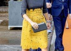 Η βασίλισσα Μαξίμα της Ολλανδίας με το ωραιότερο φουστάνι του φετινού χειμώνα: Γκρι μάλλινο  με μουσταρδί δαντέλα (φωτό) - Κυρίως Φωτογραφία - Gallery - Video 6