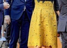 Η βασίλισσα Μαξίμα της Ολλανδίας με το ωραιότερο φουστάνι του φετινού χειμώνα: Γκρι μάλλινο  με μουσταρδί δαντέλα (φωτό) - Κυρίως Φωτογραφία - Gallery - Video 10