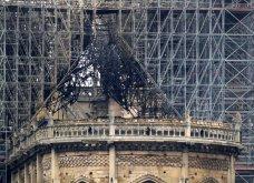 Φώτο από την επόμενη μέρα της πυρκαγιάς: Η Παναγία των Παρισίων - Κυρίως Φωτογραφία - Gallery - Video 12