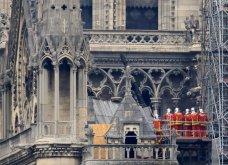 Φώτο από την επόμενη μέρα της πυρκαγιάς: Η Παναγία των Παρισίων - Κυρίως Φωτογραφία - Gallery - Video 16
