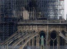 Φώτο από την επόμενη μέρα της πυρκαγιάς: Η Παναγία των Παρισίων - Κυρίως Φωτογραφία - Gallery - Video 19