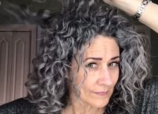 Αυτές οι 103! Γυναίκες έπαψαν να βάφουν τα μαλλιά τους & υιοθέτησαν το φυσικό γκρι ή ψαρό ή όπως θέλετε - Φώτο  - Κυρίως Φωτογραφία - Gallery - Video 3