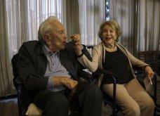 Love Story ετών 65 & τα μυστικά του: Ο γόης Κερκ Ντάγκλας 102 ετών & η 100 ετών σύζυγος του έκλεισαν 65 χρόνια γάμου (φώτο)  - Κυρίως Φωτογραφία - Gallery - Video 7