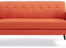 Πορτοκαλί καναπές : Γιατί όχι; - 32 ιδέες με 32 διαφορετικούς, πορτοκαλί , φωτεινούς (φώτο)  - Κυρίως Φωτογραφία - Gallery - Video 28