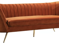 Πορτοκαλί καναπές : Γιατί όχι; - 32 ιδέες με 32 διαφορετικούς, πορτοκαλί , φωτεινούς (φώτο)  - Κυρίως Φωτογραφία - Gallery - Video 30