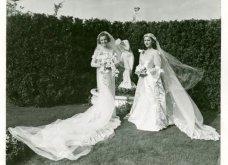 Vintage Pics: 40 υπέροχα νυφικά- πολύ μακριά - αλλά πολύ μακριά - Όπως ήταν στη μόδα τη δεκαετία του 30 (φώτο) - Κυρίως Φωτογραφία - Gallery - Video 19