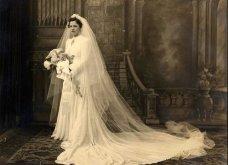 Vintage Pics: 40 υπέροχα νυφικά- πολύ μακριά - αλλά πολύ μακριά - Όπως ήταν στη μόδα τη δεκαετία του 30 (φώτο) - Κυρίως Φωτογραφία - Gallery - Video 25