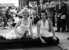 """32 φωτογραφίες από τις εκθαμβωτικές Μέριλιν Μονρόε & Τζέιν Ράσελ στα γυρίσματα της ταινίας """"Οι άντρες προτιμούν τις ξανθές""""  - Κυρίως Φωτογραφία - Gallery - Video"""