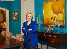 Εξαιρετικές φωτογραφίες από την έπαυλη της Χίλαρι & του Μπιλ Κλίντον στην Ουάσιγκτον - Μεγάλη πισίνα - έντονα χρώματα σε κάθε δωμάτιο  - Κυρίως Φωτογραφία - Gallery - Video