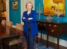 Εξαιρετικές φωτογραφίες από την έπαυλη της Χίλαρι & του Μπιλ Κλίντον στην Ουάσιγκτον - Μεγάλη πισίνα - έντονα χρώματα σε κάθε δωμάτιο  - Κυρίως Φωτογραφία - Gallery - Video 12