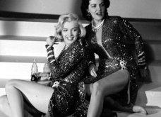 """32 φωτογραφίες από τις εκθαμβωτικές Μέριλιν Μονρόε & Τζέιν Ράσελ στα γυρίσματα της ταινίας """"Οι άντρες προτιμούν τις ξανθές""""  - Κυρίως Φωτογραφία - Gallery - Video 31"""
