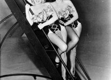 """32 φωτογραφίες από τις εκθαμβωτικές Μέριλιν Μονρόε & Τζέιν Ράσελ στα γυρίσματα της ταινίας """"Οι άντρες προτιμούν τις ξανθές""""  - Κυρίως Φωτογραφία - Gallery - Video 8"""