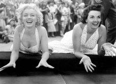 """32 φωτογραφίες από τις εκθαμβωτικές Μέριλιν Μονρόε & Τζέιν Ράσελ στα γυρίσματα της ταινίας """"Οι άντρες προτιμούν τις ξανθές""""  - Κυρίως Φωτογραφία - Gallery - Video 10"""