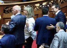 Λαμπερά χαμόγελα, φιλιά, αγκαλιές & κουβεντούλα - Το Backstage της ορκωμοσίας στη βουλή σε εικόνες (φώτο) - Κυρίως Φωτογραφία - Gallery - Video 10
