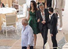 Όταν ο George Clooney κρατάει αγκαζέ την εκθαμβωτική  Amal & πάει σε ρομαντικό δείπνο στη Λίμνη του Κόμο (φώτο) - Κυρίως Φωτογραφία - Gallery - Video 2
