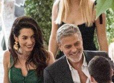 Όταν ο George Clooney κρατάει αγκαζέ την εκθαμβωτική  Amal & πάει σε ρομαντικό δείπνο στη Λίμνη του Κόμο (φώτο) - Κυρίως Φωτογραφία - Gallery - Video 3